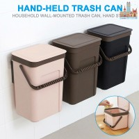 ✅❤✨ Trash Can Kitchen Wall Mounted Garbage Bin Recycle Compost