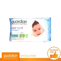 Guardian Baby Wipes Fragrance Free 50 Sheets
