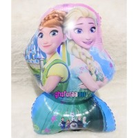 Balon Foil Frozen - balon elsa - balon frozen - dekorasi ulang tahun