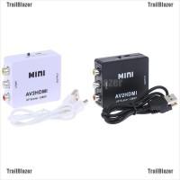 TBID belle Mini 3RCA AV to HDMI Converter Adapter Composite AV2HDMI