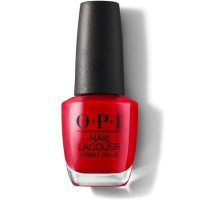 OPI Nail Lacquer Big Apple Red - NLN25