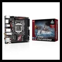 Asus Z170I Pro-Gaming (LGA1151,Z170, DDR4) BERGARANSI