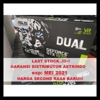 VGA Geforce GTX 1070 ASUS Dual OC 8GB GDDR5 TERBATAS