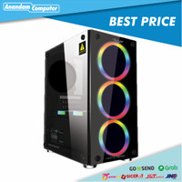 ARMAGEDDON NIMITZ TR1100 - Tempered Glass Case With Free Fans and PSU