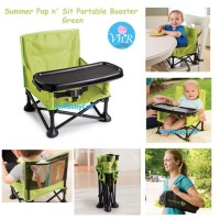 Kursi Makan Bayi Baby Chair Summer Pop n' Sit Portable Booster Seat