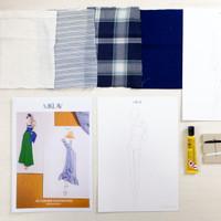 Toolkit 3D Fashion Illustration lengkap dengan Guidesheet