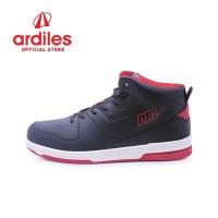 Ardiles Men Adonis Sepatu Basket - Hitam Merah