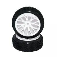 4pcs Roda Ban Wheel Buggy RC 1:16 Diameter 68mm / 9mm Hex Roda