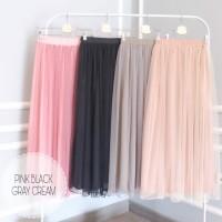 Rok Tutu Skirt Panjang Baju Muslim Lebaran