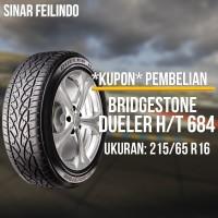 Ban Mobil SUV Bridgestone DUELER D684 215/65 R16 *KUPON*
