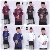 baju koko anak busana muslim seragam hadroh gus azmi azzahir KK7