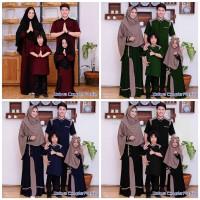 couple family , baju sarimbit keluarga , baju gamis muslim kelurga