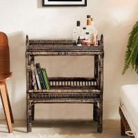 Serengeti Bar Cart / Side Table Meja Samping Coffee