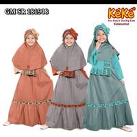 baju muslim anak perempuan - baju gamis anak - baju muslim keke