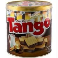 wafer tango kaleng - cokelat