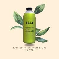 Dum Dum Thai Green Tea Bottled 1 litre (Kurir Sameday/ instant only)