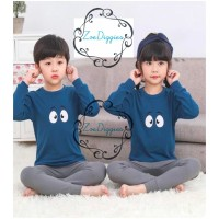 Piyama Baju Anak Import Adem Katun Halus Karakter Seri 1 Size Big