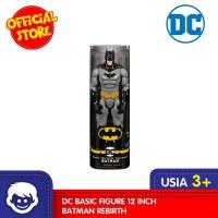Mainan Figur DC Basic Figure 12 Inch Batman Rebirth