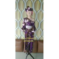 Baju casual fashion show anak purple