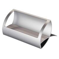 Holder Kartu Bisnis / Nama Bahan Metal Aluminium untuk Meja / Kantor