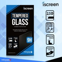 ANTI GORES SAMSUNG A8 (2018) iSCREEN TEMPERED GLASS INDOSCREEN