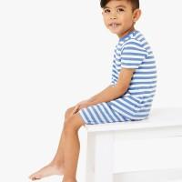 M&S - Baju Tidur Anak Laki-Laki - TBv3p Stripe Shrt