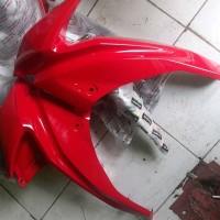 fairing coak ninja rr new original kawasaki warna merah tools n p