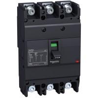 Circuit breaker Easypact EZC250H - TMD - 200 A - 3 poles 3d Schneider