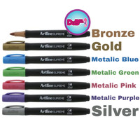 Spidol Metalic Artline Supreme Metalic Marker EPF-790