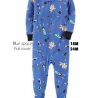 sleepsuit/piyama/jumper anak cowok usia 2 tahun - flowerbirds
