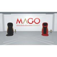 MAGO Massage Cushion - Bangku Pijat - Hitam berkualitas