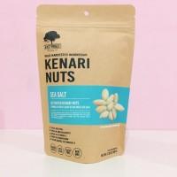 East Forest Kenari Nuts Sea Salt 80 gram | Kacang Kenari Garam Laut