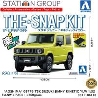 AOSHIMA 05776 THE SNAP KIT SUZUKI JIMNY KINETIC YELLOW 1-32 MODEL KIT