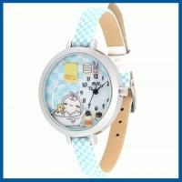 Murah Korea Mini Watch MN-978 (Blue) Elegan