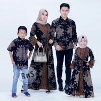 baju gamis Muslim Jasko cauple Batik kelurga anak Cowok Dan Cewek new