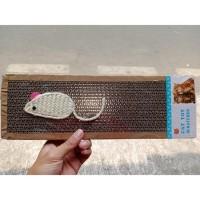 Garukan kucing papan kertas - scratch board pad cat mainan kucing lucu