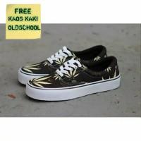 Sepatu Vans Oldschool Premium Grade Original Rasta Cream / Sepatu Vans - 39