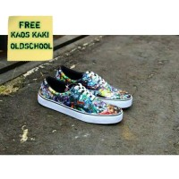 Sepatu Vans Oldschool Premium Grade Original Marvel / Sepatu Vans - 39