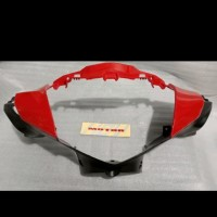 Batok Cover Lampu Depan Honda Supra X 125 Helm In Merah