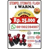 stempel otomatis/flash tanpa bantalan. murah dan berkualitas