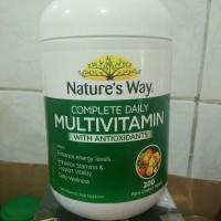 Natures way Multivitamin 200 tablet.. Nature way vitamin C D