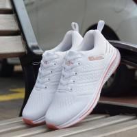 Adidas Zoom Running Cewek Putih ( Sepatu Olahraga / Sepatu Wanita )