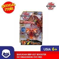 Mainan BAKUGAN BBP-027 Booster DX Dragonoid EVO RED