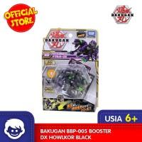 Mainan BAKUGAN BBP-005 Booster DX Howlkor BLACK