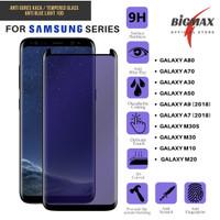 Anti Gores Blue Samsung Galaxy A80 A70 A30 A50 A9 A7 M30S M30 M10 M20
