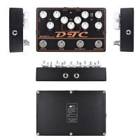 Mosky dtc 4-in-1 Pedal Efek Gitar Elektrik Distortion + Overdrive +