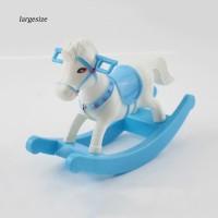 Rumah Boneka Lgsz Mainan Kuda Plastik Mini untuk Dekorasi