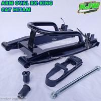 Swing Arm Oval Rx King Rxk Cat Hitam Kuat accessories