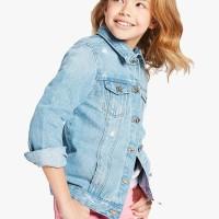 MARKS & SPENCER - Jaket Anak Perempuan - Pure Cotton Denim Jacket