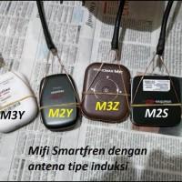 TERJAMIN Antena induksi 7EL Yagi 4G 850 Smartfren M2Y M2S M3Y M3Z